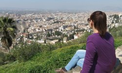 Desde ctra. subida a la Alhambra